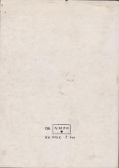 Verso de Strange -Rec034- Album N°34 (du n°101 au n°103)