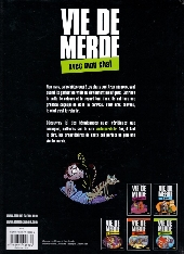 Verso de Vie de merde  -5- Vie de merde avec mon chat