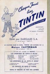 Verso de (Recueil) Tintin (Album du journal - Édition française) -37- Tintin album du journal