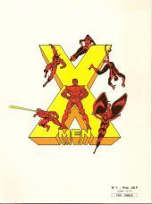 Verso de X-Men (Les étranges) -1FS- Descente aux enfers