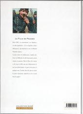 Verso de La fille de Paname -1- L'homme aux couteaux