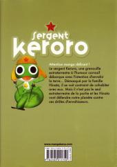 Verso de Sergent Keroro -19- Tome 19