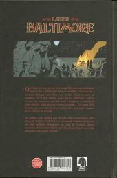 Verso de Lord Baltimore -1- Quarantaine
