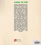 Verso de (AUT) Benoit, Ted -5- Corbu vu par