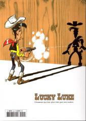 Verso de Lucky Luke - La collection (Hachette) -4- Le Pied-Tendre