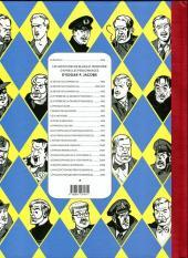 Verso de Blake et Mortimer -19Soir- La Malédiction des trente deniers, tome 1