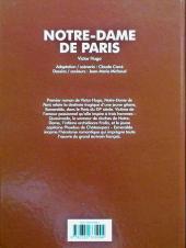 Verso de Les grands Classiques en bande dessinée - Notre-Dame de Paris