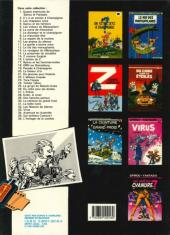 Verso de Spirou et Fantasio -16e86- L'ombre du Z