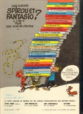 Verso de Spirou et Fantasio -17d80- Spirou et les hommes-bulles