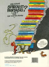 Verso de Spirou et Fantasio -18d84- QRN sur Bretzelburg