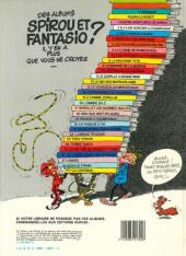 Verso de Spirou et Fantasio -19a1984- Panade à Champignac