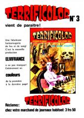 Verso de Contes malicieux -3- Les horreurs du marais