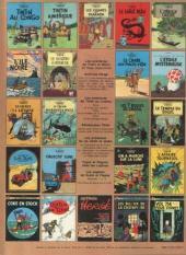 Verso de Tintin (Historique) -10C1- L'étoile mystérieuse