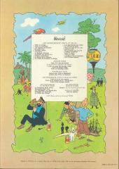 Verso de Tintin (Historique) -11B42- Le Secret de la Licorne