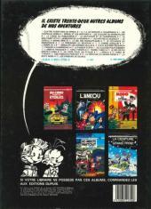 Verso de Spirou et Fantasio -29a1983a- Des haricots partout