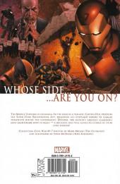 Verso de Civil War (Marvel Comics - 2006) -INT- Civil War