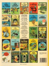 Verso de Tintin (Historique) -23C6bis- Tintin et les Picaros