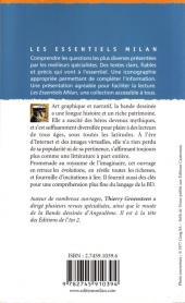 Verso de (DOC) Études et essais divers -a- La bande dessinée, une littérature graphique