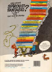 Verso de Spirou et Fantasio -7e83a- Le dictateur et le champignon