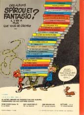Verso de Spirou et Fantasio -2e80- Il y a un sorcier à Champignac