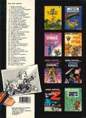 Verso de Spirou et Fantasio -1d1987- 4 aventures de Spirou ...et Fantasio