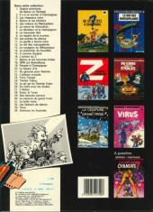 Verso de Spirou et Fantasio -9b1985- Le repaire de la murène