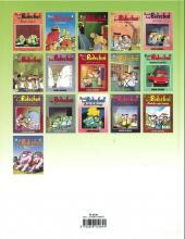 Verso de Les bidochon -6b2002- Les Bidochon en voyage organisé