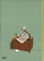 Verso de Les aventures d'Hergé - Tome b