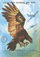 Verso de Rapaces (Impéria) -70- Escadrille Mosquito