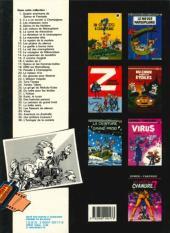 Verso de Spirou et Fantasio -15e86- Z comme Zorglub