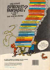 Verso de Spirou et Fantasio -13d84- Le voyageur du mésozoïque