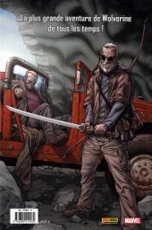 Verso de Wolverine - Old Man Logan