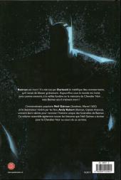Verso de Batman (DC Icons) -10- Qu'est-il arrivé au chevalier noir ?