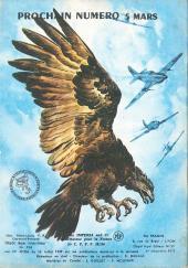 Verso de Rapaces (Impéria) -230- Identité inconnue - Cas d'urgence - Duel sans arme