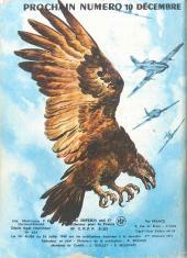 Verso de Rapaces (Impéria) -275- Ciel sauvage - Puissance de frappe