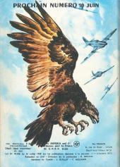 Verso de Rapaces (Impéria) -293- Le Raider rebelle - La peur - Vol de secours - Le dernier coup - Épreuve du feu