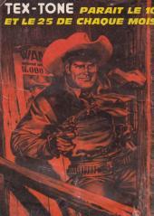 Verso de Tex-Tone -337- Les gitans