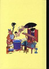 Verso de M. Toudou et son singe Toulour -4- Tome quatre