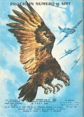 Verso de Rapaces (Impéria) -343- Radar raider - Mission spéciale - Repaire dans le désert