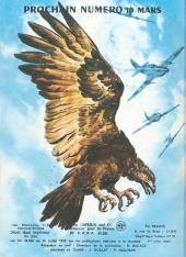 Verso de Rapaces (Impéria) -349- Les ailes du désert - Les jets