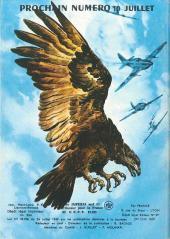 Verso de Rapaces (Impéria) -353- Effort maximum - La grande peur - L'éclair n°7