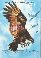Verso de Rapaces (Impéria) -356- Mission de secours - Ainsi naît une légende - Le moment venu...