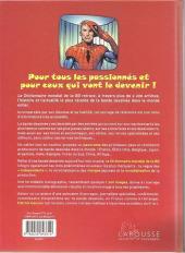 Verso de (DOC) Encyclopédies diverses -12010- Dictionnaire mondial de la BD