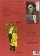 Verso de Blake et Mortimer (Les Aventures de) -10b2000- L'affaire du collier