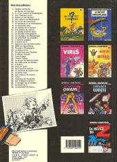 Verso de Spirou et Fantasio -19a1987- Panade à Champignac