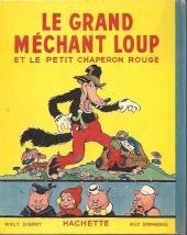 Verso de Walt Disney (Hachette) Silly Symphonies -2- Le Grand Méchant Loup et le Petit Chaperon rouge