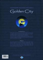 Verso de Golden City -9ES- L'Énigme Banks