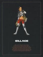 Verso de Sillage -INT3- L'Intégrale - Tomes 7 à 9
