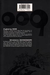 Verso de Cyborg 009 -9- Tome 9