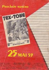 Verso de Tex-Tone -49- Victimes désignées